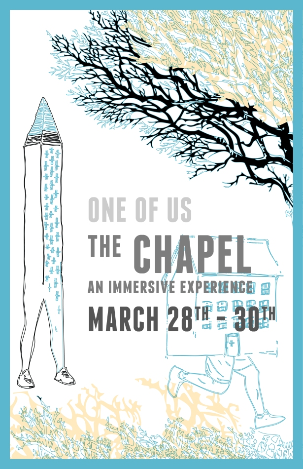 OneOfUs.Chapel.Poster no bl